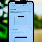 Consumers can choose to hide the notch on Tecno Camon 11 Pro if the wish not to have it on.