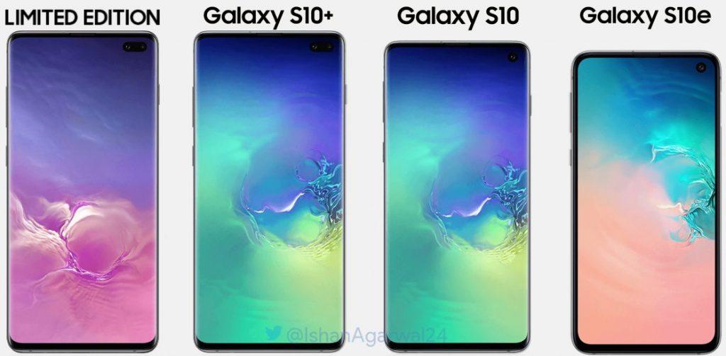 Samsung will unveil three phones, Galaxy 10, Galaxy 10+ and Galaxy 10E at their unpacked event on Feb. 20th | Photo Courtesy : Twitter/ Ishan Agarwal (@ishanagarwal24)
