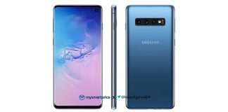 The Samsung Galaxy S10 is rumored to come in a blue color variant | Photo Courtesy : MySmartPrice/File Photo.