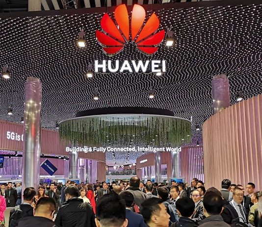 Huawei Technologies is one of the exhibitors at the on going MWC 2019 in Barcelona and has a booth at the Hall 1 at the Fira Gran Via event hall | Courtesy Photos.