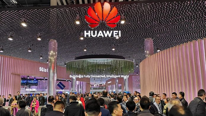 Huawei Technologies is one of the exhibitors at the on going MWC 2019 in Barcelona and has a booth at the Hall 1 at the Fira Gran Via event hall   Courtesy Photos.