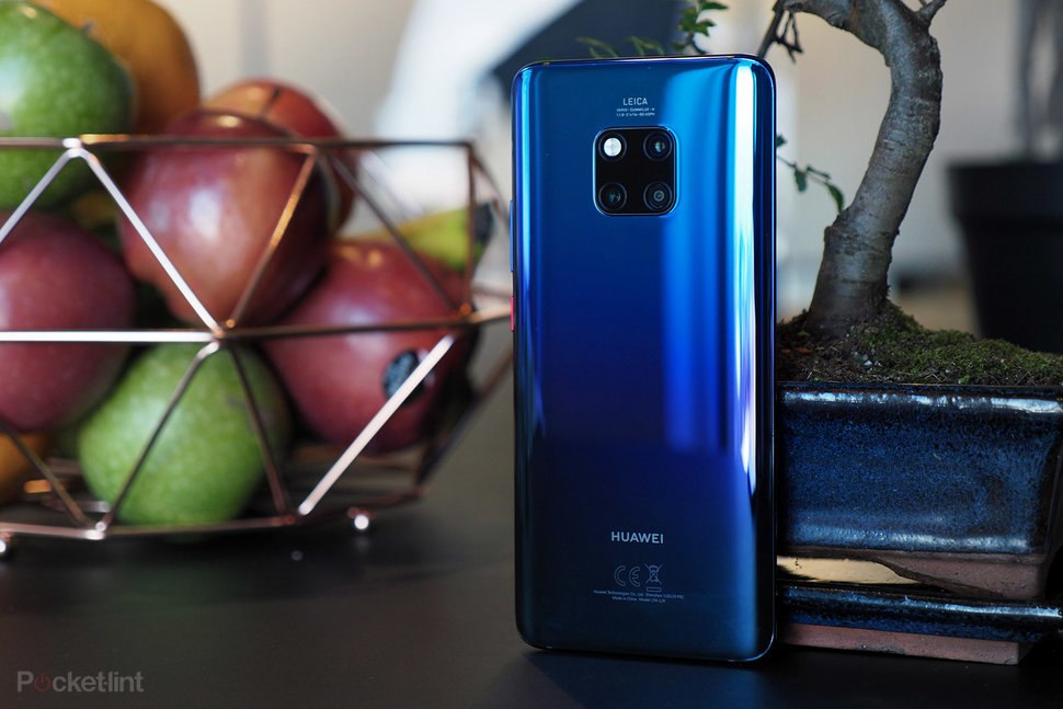 The Huawei Mate 20 Pro comes with a triple rear camera setup (40MP+20MP+8MP) | Photo Credit: Pocket-lint.
