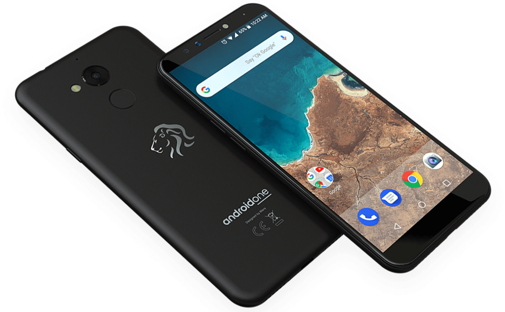Pictured in the Mara Z smartphone. The Maraphones have been designed in partnership with Google's Android One Program  | Photo Courtesy : Mara Corp./File Photo