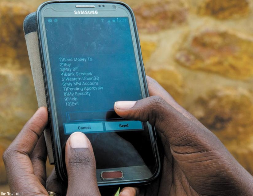 Mobile money transactions hit UGX73.1 trillion at the end of June just before introduction of mobile money levy | Photo Courtesy : The New Times