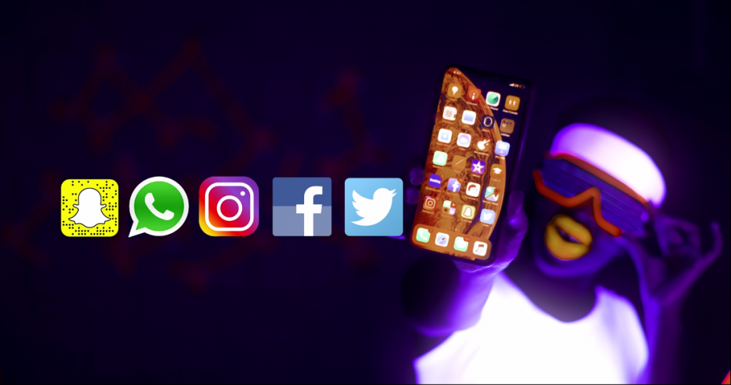 Generic picture showing the social media channels that are covered in the Africell SWIFT internet bundles | Courtesy Photo.