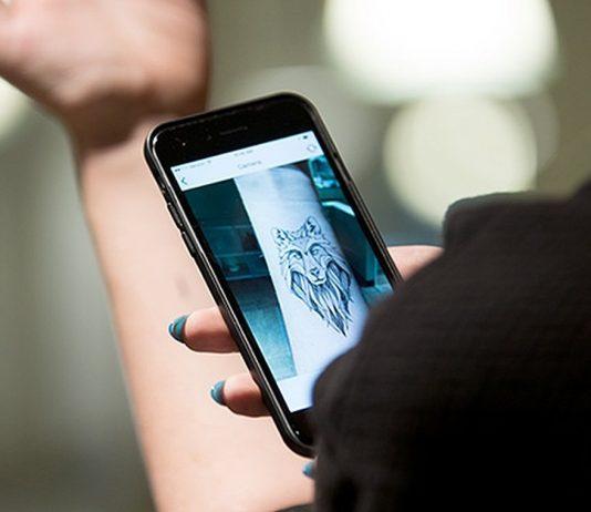 Augmented Tattoo Reality App | Courtesy Photo.