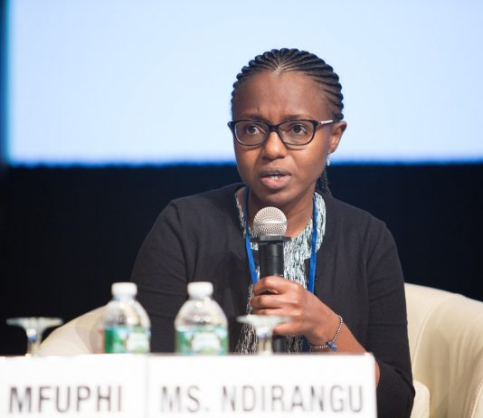 Africa's Talking new CEO Ms. Bilha Ndirangu | Courtesy Photo.