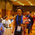 Evelyn Namara; CEO and Founder of Vouch Digital pictured during her attendance at the 2018 Africa Internet Summit in Dakar, Senegal | Coutresy Photo/ staticflickr.
