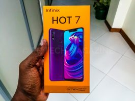 Infinix Mobillity launched the anticipated Infinix Hot 7 on March 4th, 2019 in Kampala | Photo by : PC TECH MAGAZINE/Olupot Nathan Ernest.
