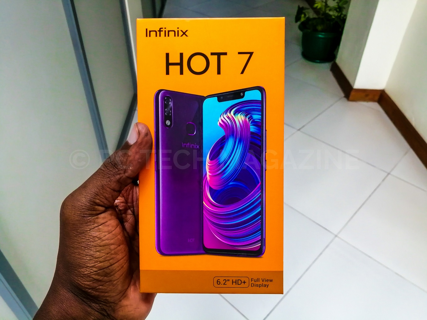 Photo of Infinix Mobility Unveils The Anticipated Infinix Hot 7 To Ugandans