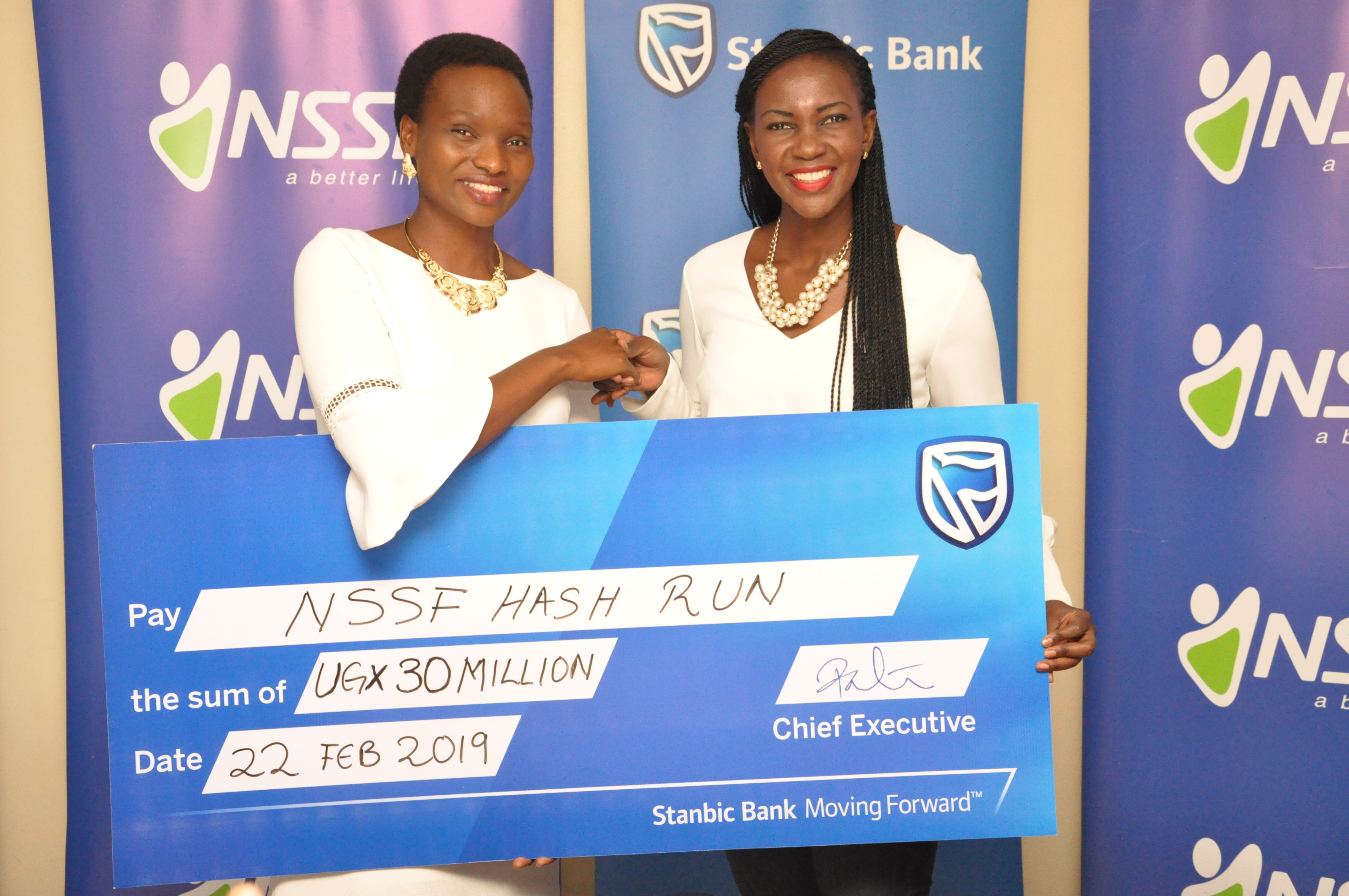Photo of Stanbic Bank Doubles Contribution Towards NSSF Hash Run