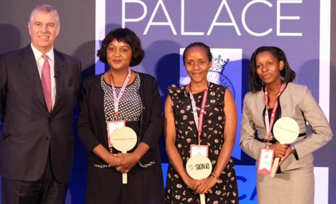 Photo of Anne Rweyora Emerges Runner-up at the Pitch@Palace Africa Competition