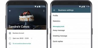 WhatsApp Business for iPhone | Image Credit: GSMArena.