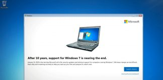 Microsoft will to supporting Windows 7 starting from Jan. 14th, 2020 | File Photo/Tech Crunch.