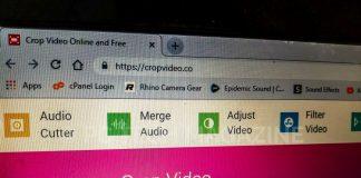Crop video app