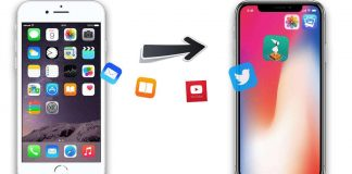 Transferring contacts between iPhone | Photo Courtesy.