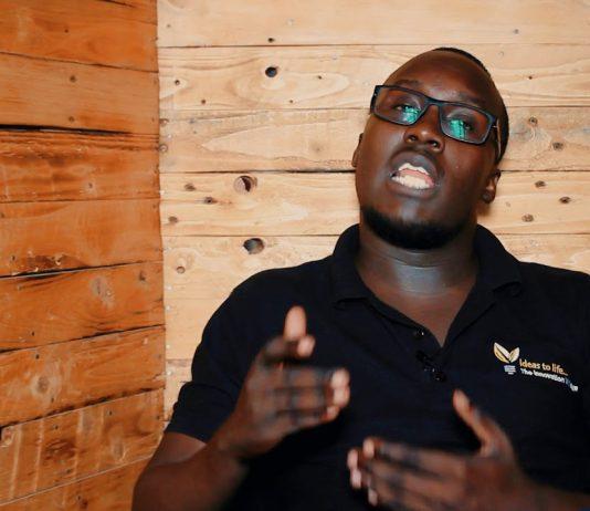 Swipe2Pay team lead, Solomon Kitumba   File Photo.