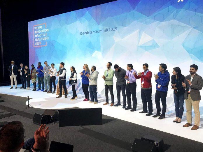 The 2019 finalists for the seedstar global competition   Photo By: Seedstar.