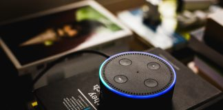 Amazon echo dot is one of the famous Personal Assistants | Photo by Andres Urena on Unsplash.