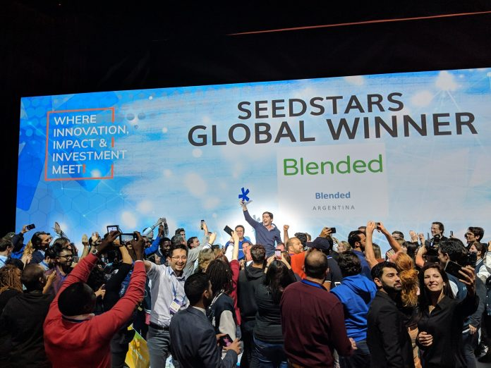 Blended an EdTech startup improving communication between schools and families wins the 2019 2019 Seedstars Global Competition | Courtesy Photo.