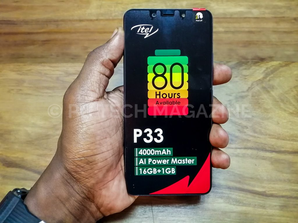 itel P33 Review, Comes With An Impressive Battery - PC Tech