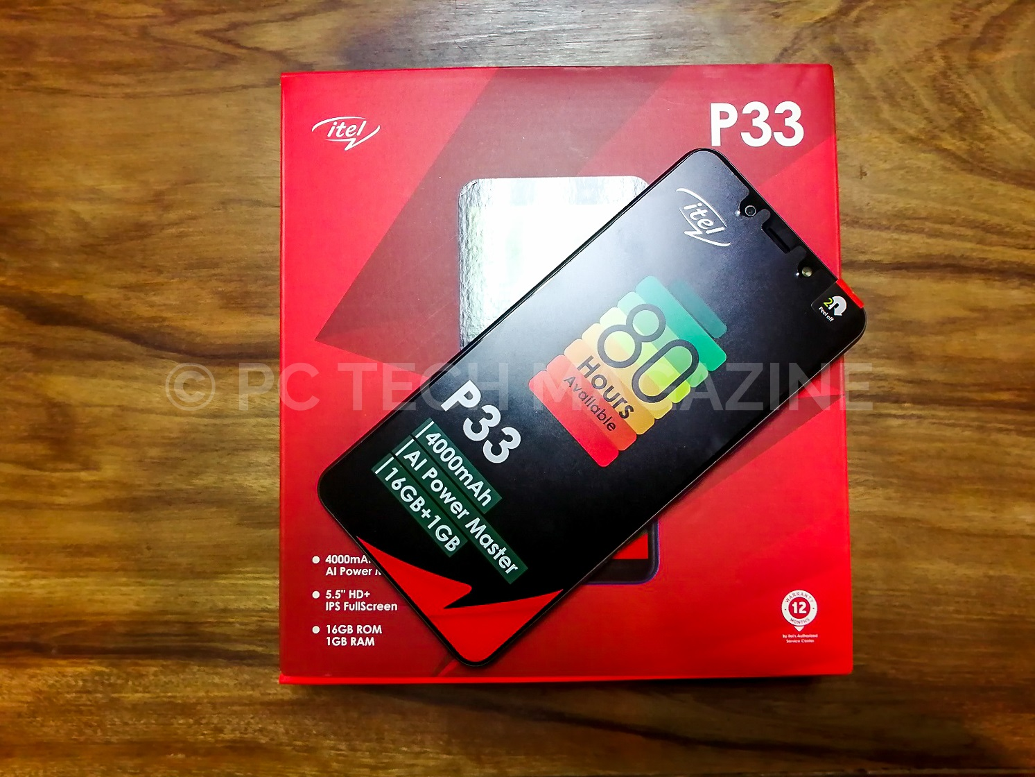 Photo of itel P33 a Premium Entry-Level Android GO Smartphone With an Impressive Battery