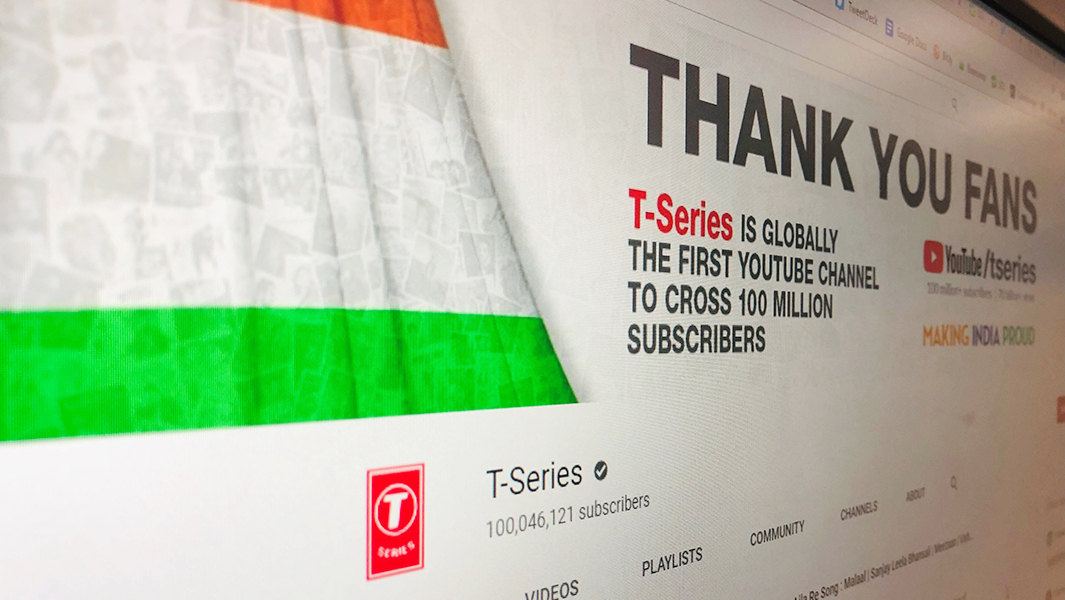 Photo of T-Series Emerges Victorious, Becomes First YouTube Channel to Reach 100M Subscribers