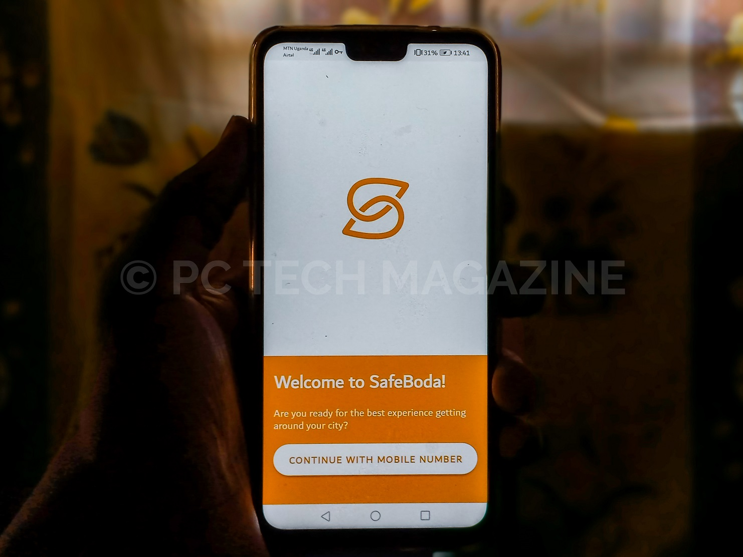 SafeBoda revamped app for Android users.