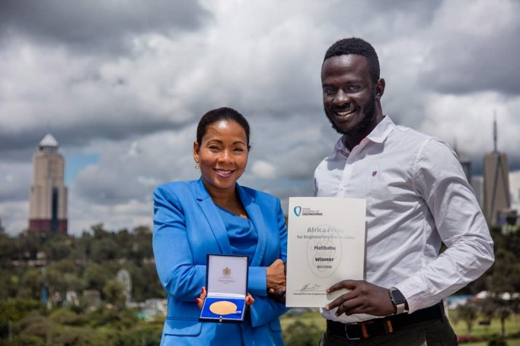 Brian Gitta, software engineer and co-founder of Matibabu won the Africa Prize for Engineering Innovation in 2018 becoming the first Ugandan to win the prestigious Africa Prize, and the youngest winner to date. File Photo