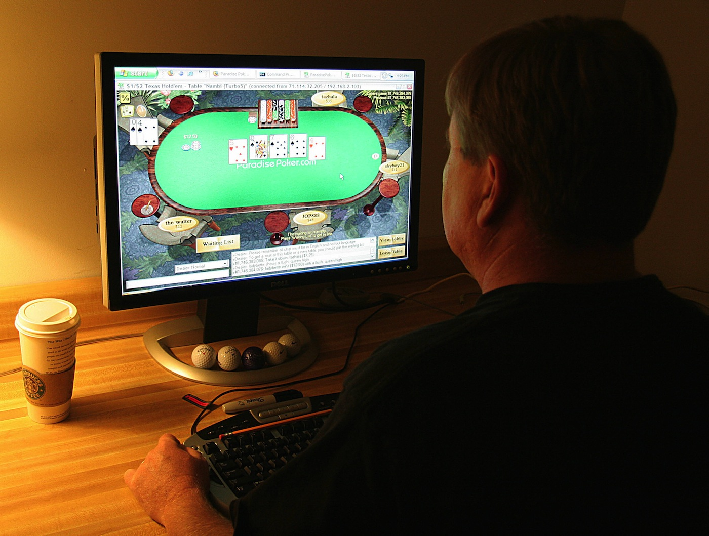 As of 2017, the global online gambling industry was worth USD$46.9 billion. Courtesy Photo
