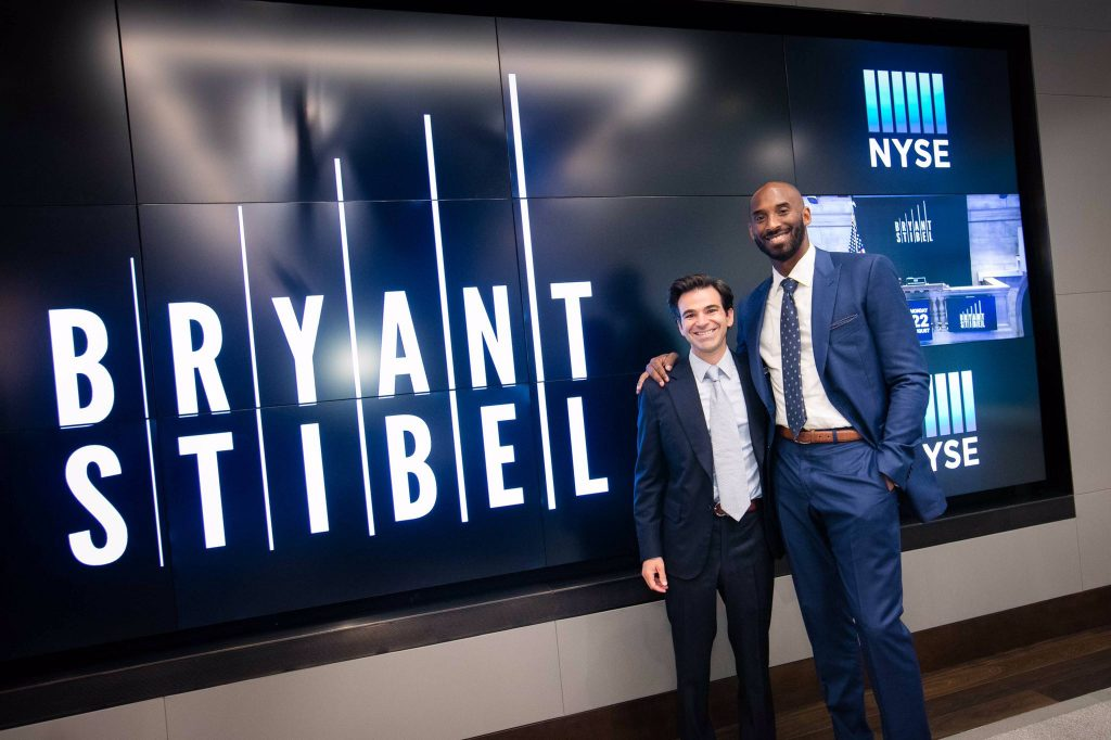 Kobe Bryant with Jeff Stibel each contributed a total of USD$100 million (approx. UGX368.3 billion) to open the Bryant Stibel. Courtesy Photo