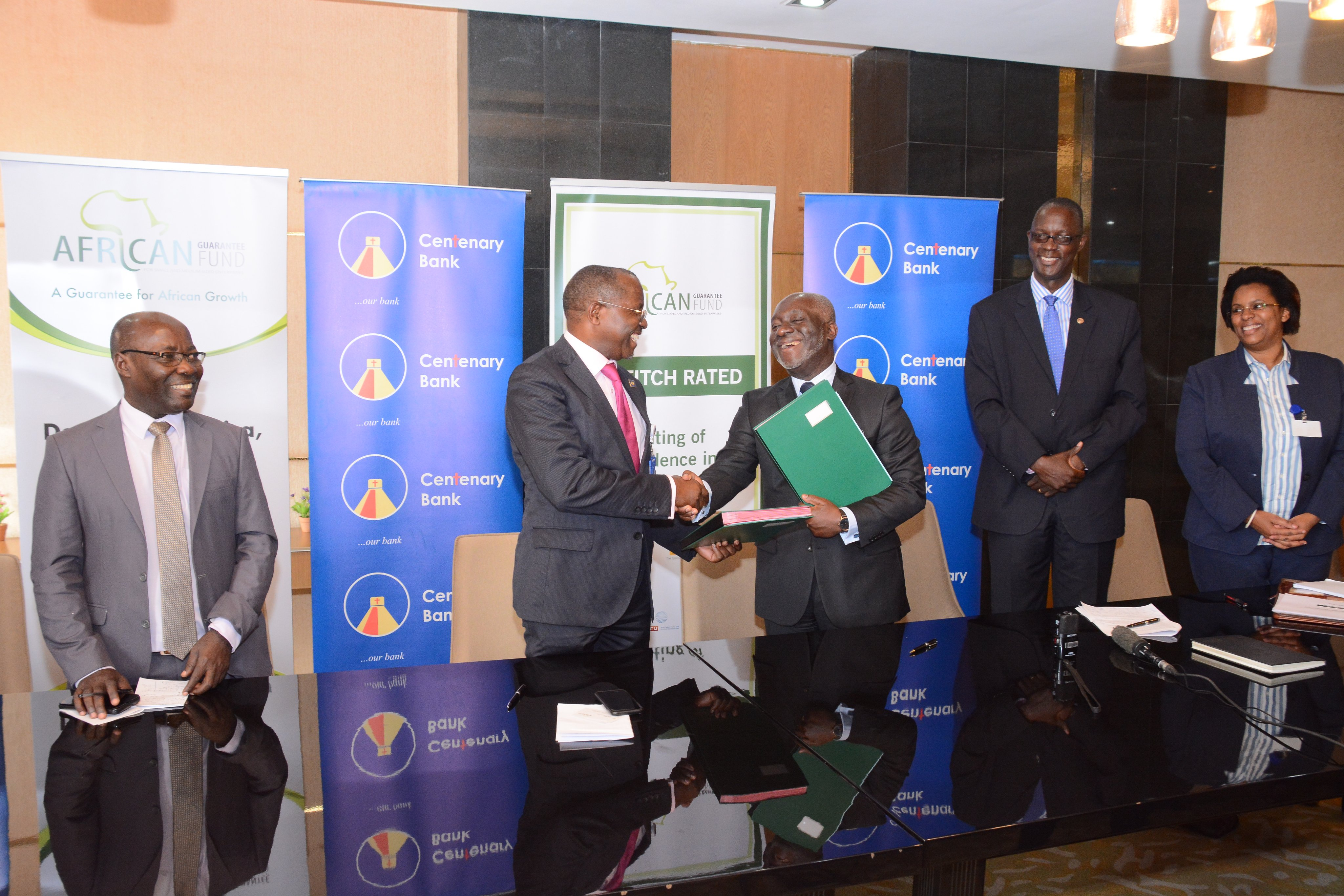 Photo of African Guarantee Fund Avails UGX37bn to Centenary Bank to Ease Lending for SMEs