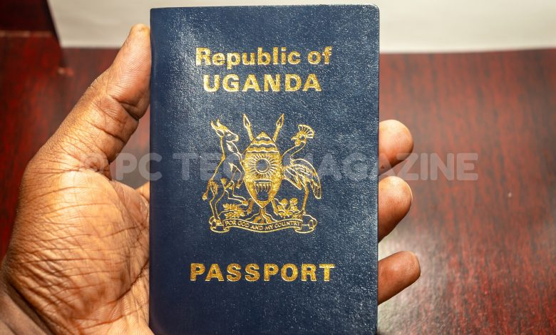 ePassports are replacing the traditional passport books across the East Africa Community (EAC). Photo by Olupot Nathan Ernest/PC TECH MAGAZINE