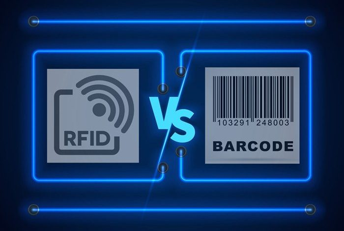 Barcodes and RFID tags on a conceptual level can stand for the same principles. Courtesy Image