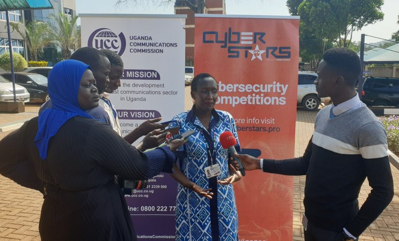 UCC Ag. Executive Director, Eng. Irene Kaggwa Ssewankambo appeals to Ugandans to take a keen interest in their cybersecurity. Courtesy Photo