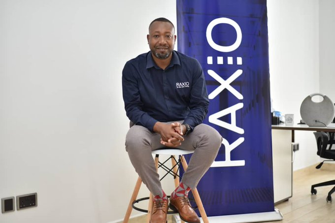 Raxio Data Centre General Manager; Mr. James Byaruhanga