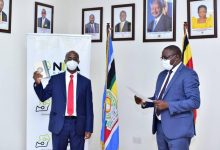 Photo of Dr Hatwib Mugasa Sworn in as the Executive Director of NITA-U