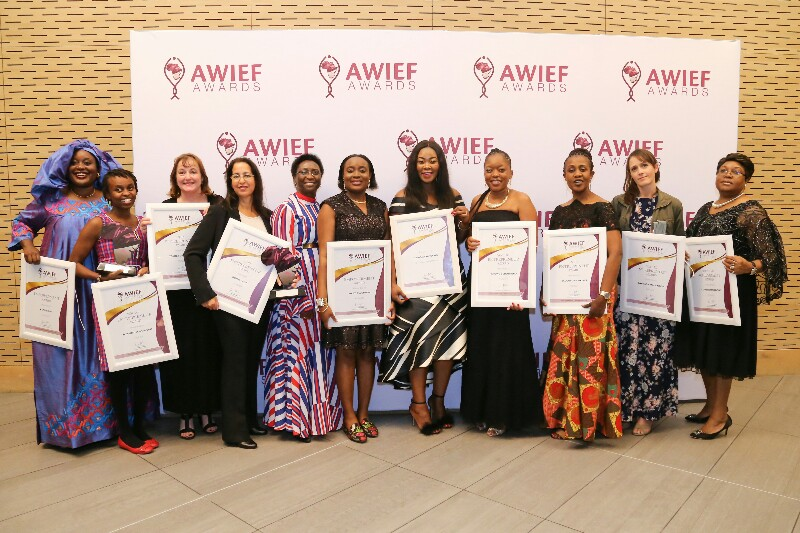 2019 Winners of the AWEIF Awards. Courtesy Photo
