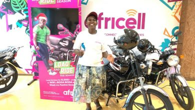Photo of Africell Awards First Winner in its On-going 'Africell Load and Ride' Promo