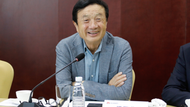 Photo of Ren Zhengfei: We Won't Give Up The Ideal of Globalization