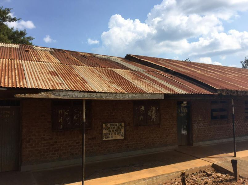 Busia Secondary School — classroom before