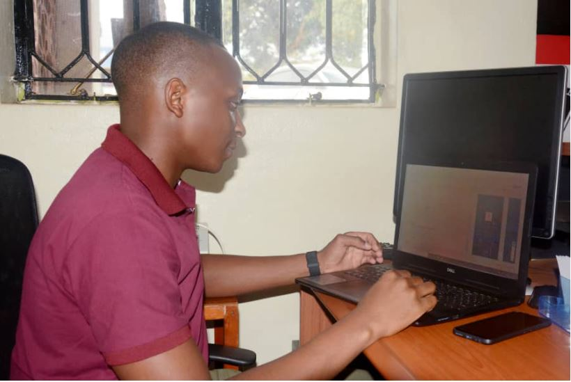 "Julius Tusingwire merged his medical career with his computer programming career, which led him to start an online pharmacy ""Your Dawa Online Pharmacy"". (COURTESY PHOTO)"