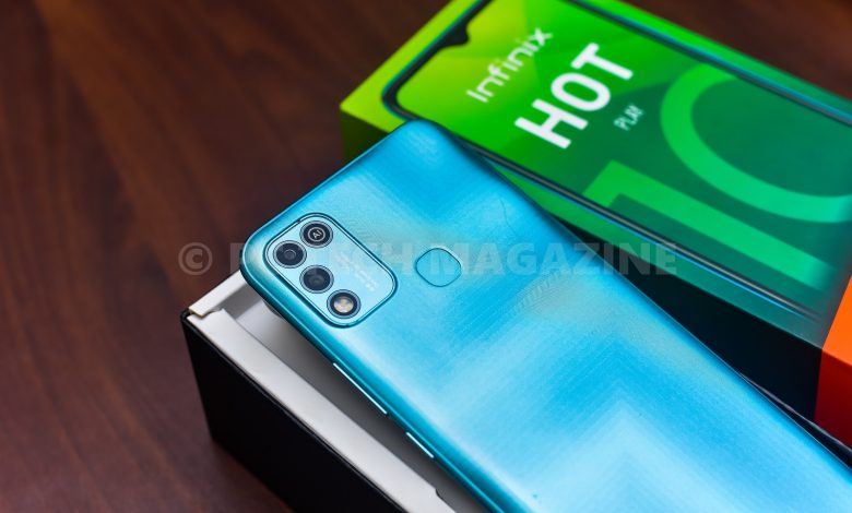 Infinix HOT 10 Play is a decent and minimalist smartphone. (PHOTO: PC TECH MAGAZINE | Edgar Hamala)