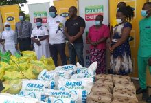 Photo of MTN, Salaam Donate Alms to Frontline Workers in Bugiri and Mbale
